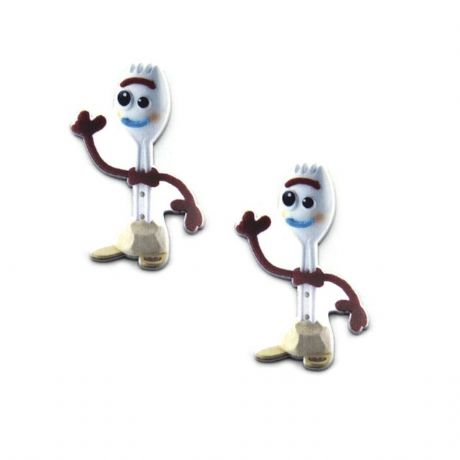 5 x 35MM FORKY FROM TOY STORY LASER CUT FLAT BACK RESIN HEADBANDS HAIR BOWS